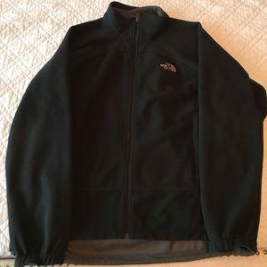 The North Face Black size XL fleece jacket